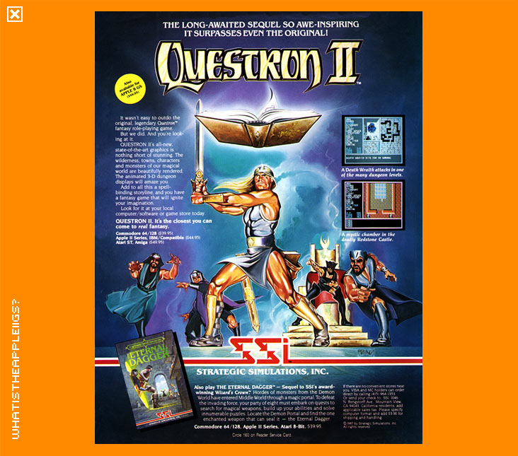 What Is The Apple IIGS? > Role Playing Games > Questron II
